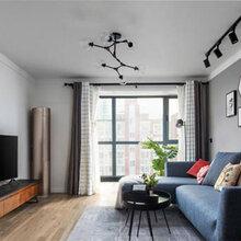 翼城山西拜尔建筑装饰80平米中户型两室一厅一卫全包无醛整体家装