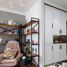 曲沃山西拜尔建筑装饰80平米中户型两室两厅一卫全包无醛整体家装