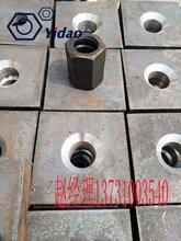 M25精轧螺纹钢配套锚具六角平/锥螺母4550图片