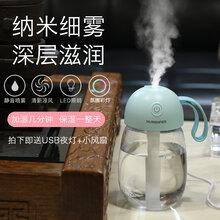 凱的小家電加濕器外觀設計隨心杯加濕器桌面迷你加濕器車載加濕器圖片
