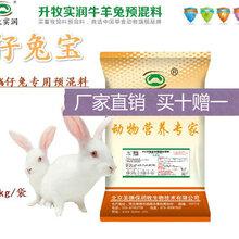 仔兔宝小兔饲料厂家直销4%仔兔预混料