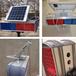 甘肅蘭州太陽能爆閃燈太陽能雙面八爆閃