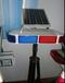 太陽能爆閃燈/紅藍短排