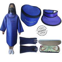 X射线防护医生?#20204;?#33014;衣核辐射防护服ct口腔放射科围裙领手套套装