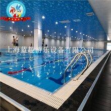 提供,上海,學校體育館拼裝泳池,藍趣供