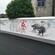 美丽乡村手绘墙绘画