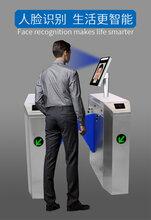 工地門禁系統人行通道閘刷卡人臉識別一體機小區門禁系統人證核驗人行通道閘伴侶