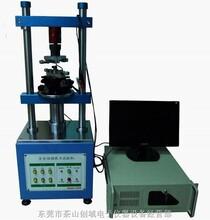 全自動伺服拔插力試驗機連接器之插入力及拔出力測試圖片