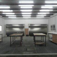 环保型电加热家具喷漆房总家具烤漆房
