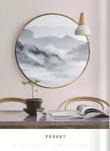 鄭州客廳室內裝飾畫框畫廠家直銷邊框材質尺寸可定制圖片