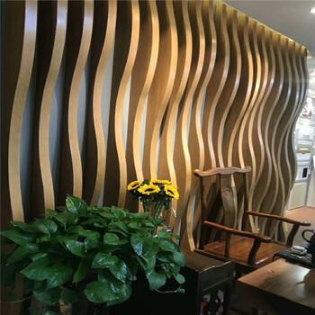 棕色弧形铝方通规格白色铝方通吊顶木纹U型方通富腾建材质量保证全球直供