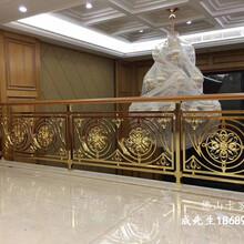 北京流行铜楼梯扶手2020新款图片图片