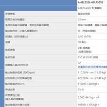 广州唐代理日精电机AH2LZ32L-60L750S2