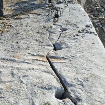 隧洞硬石分解安全環保裂石機