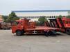 單橋國五平板多利卡156馬力拉12噸挖機拖車可分期