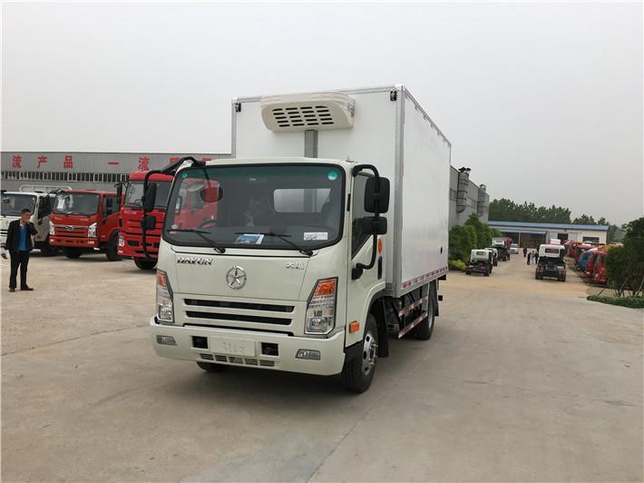 大运牌4.2米冷藏车厂家直销可运输果蔬等冷鲜物资
