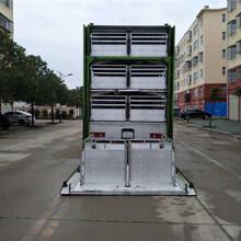 仔猪猪苗恒温运输车铝合金国六东风系列拉猪车厂家图片