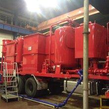 油田污水处理车载式一体化污水处理设备