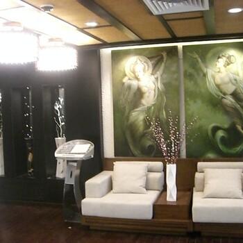 定制墙面壁纸-中式花鸟手绘壁纸定制