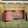 北京悦嘉睿智手绘壁纸工作室定制手绘花鸟壁纸