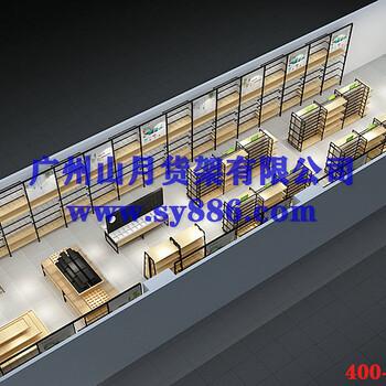广州服装店货架服装店风格货架服饰店