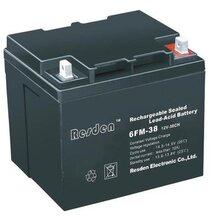 雷斯顿蓄电池12V38AH免维护蓄电池12V38AHUPS蓄电池原装正品