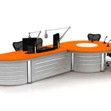 录播桌导播桌演播桌访谈桌非编台图片