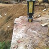 无暴破开挖石头劈石机液压劈石棒石场荒料开采