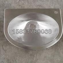 玉门市新凯不锈钢洗手盆圆形不锈钢台下盆图片