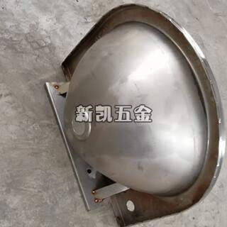 玉门市新凯不锈钢洗手盆圆形不锈钢台下盆图片4