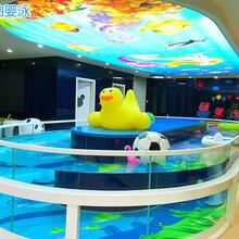 蕪湖嬰兒游泳館設備設計圖片