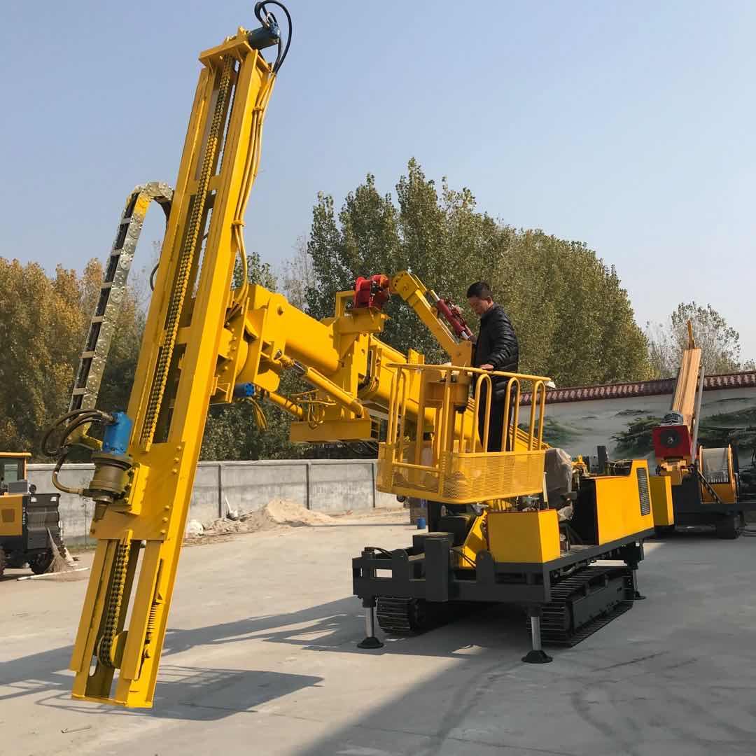 地面坡坑施工支护钻机护坡钻机锚固建筑物护坡钻机