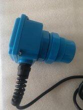 在线监测明渠流量计配套巴氏槽安装图片