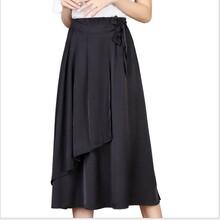 夏季時尚透氣款連衣裙百搭休閑歐美范半身裙中長款圖片