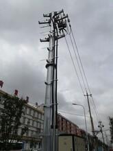 吉林电力钢管杆供应热线图片