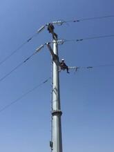 宁夏电力钢管杆厂家直销图片