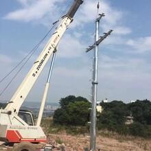 重庆电力钢管杆厂家供应图片