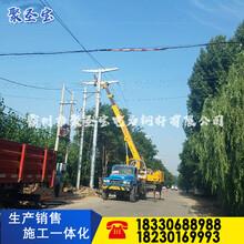 喀什35kv钢管杆10kv钢管塔图片