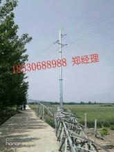 罗平县110kv35kv电力钢管杆电力钢管塔电力钢杆图片