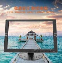 10.1英寸树莓派金属铁壳TP液晶显示器HDMI触摸高清监视器