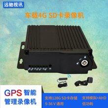 GPS定位行车记录仪4路4网通SD卡录像机