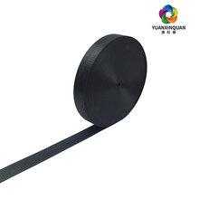 源欣泉织带厂家专注织带生产黑色人字纹织带箱包带棉织带
