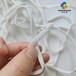源欣泉廠家現貨醫用護理N95口罩扁繩白色彈力帶一次性口罩松緊帶