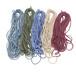 杭州彩色口罩繩環保耳帶繩支持尺寸裁切