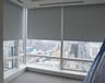 辦公室遮光簾-手動卷簾窗