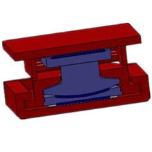 雙曲面抗拉球形鋼支座應用于鋼結構膜結構球形支座雙曲面支座圖片