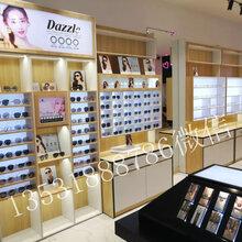 舟山地区眼镜柜加工性价比最高货架柜台定海区展示柜制作图片