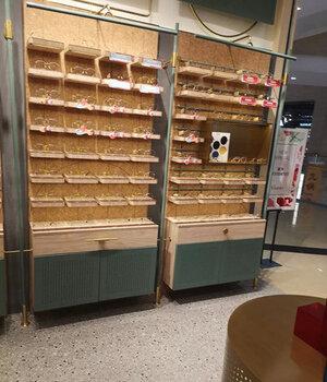 木九十多格子眼镜柜制作思路清远清城区抽屉式中岛矮柜个性设计