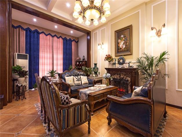 中堂鎮簡歐風格裝修效果圖,小客廳裝修效果圖