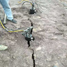 人工快速破石工具石頭劈裂棒液壓巖石開裂機定制